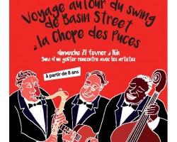 SPECTACLE JEUNE PUBLIC : Voyage autour du swing, de Basin Street à la Chope des Puces (dès 8 ans)