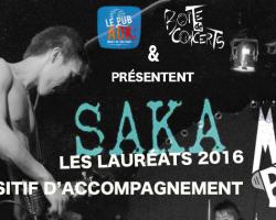Mégaphone : au tour de SAKA en 2016 !
