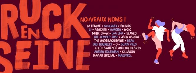 Rock En Seine 2016 : 22 nouveaux noms dévoilés !