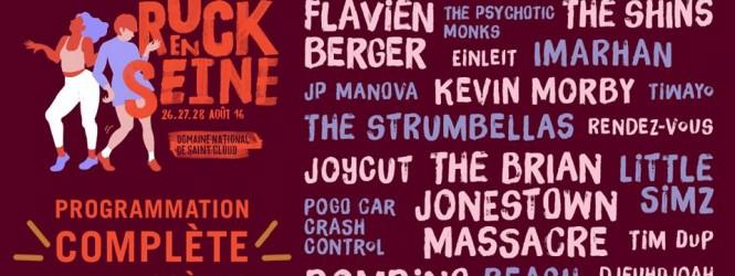 Les derniers noms dévoilés pour Rock En Seine 2016 !
