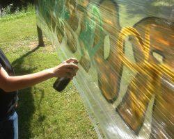 Roissy en vacances : initiation au graffiti avec Street Spirit !