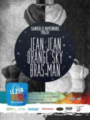 Jean Jean + There Must Be Treasure + Bras-Man