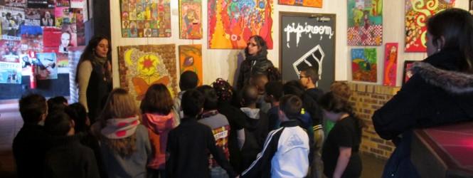 Retours des visites de l'exposition «A quatre mains»