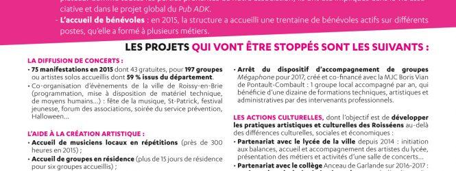 ADK en danger : la liste des projets qui pourraient s'arrêter